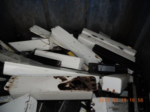 E Waste Recycling Battery ballasts electronic waste recycling