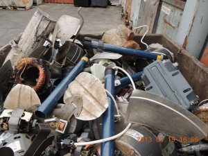 Electric motor recycling - electric motors clean 2