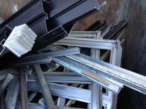 Clean Extruded Aluminum - Aluminum Recycling