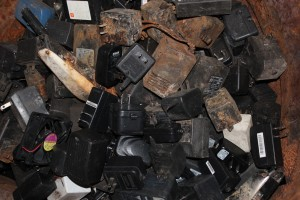 High Breakage - Electronics Recycling